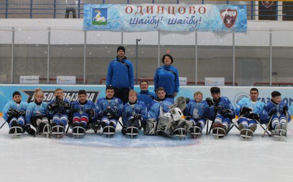 В Московской области открылась детская следж-хоккейная команда