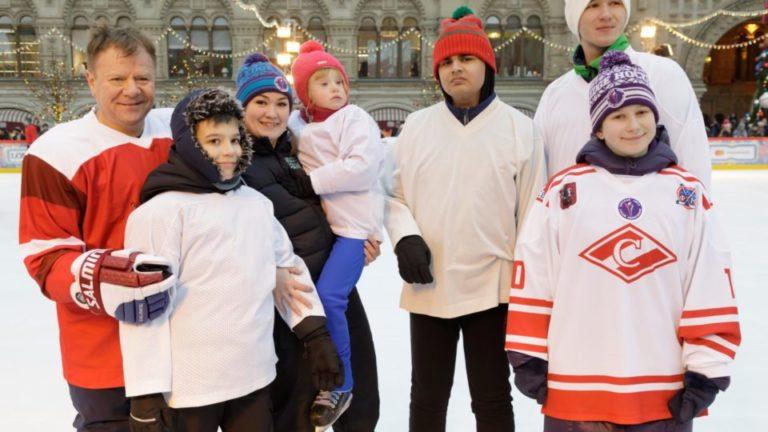 В Москве пройдёт открытая тренировка по специальному хоккею