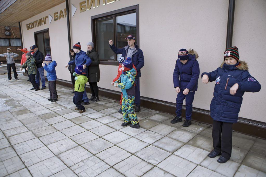 Интенсив для новичков и УТС Детской сборной в Пересвете