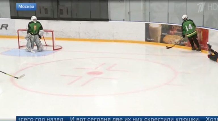 Первый канал о первом в истории России матче среди незрячих команд