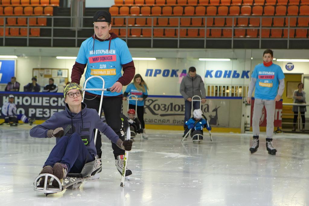 Играть в хоккей может каждый, главное – желание!