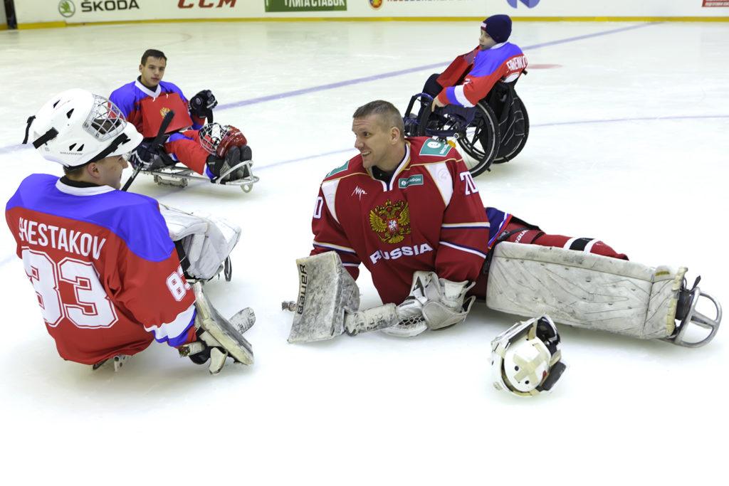 Сбор сборной в Новогорске