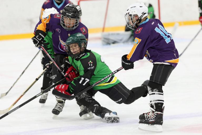 Первый в истории России матч среди незрячих хоккеистов состоялся в Москве