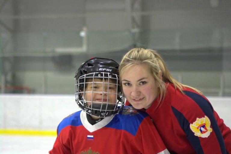 В Москве состоится открытый мастер-класс по специальному хоккею