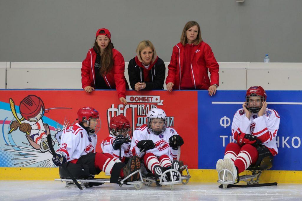 В Москве состоится открытый турнир между детских следж-команд «Дружба Спартака»!