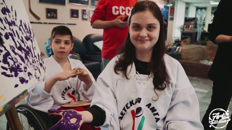 Хоккей — мир ярких красок. Александр Овечкин