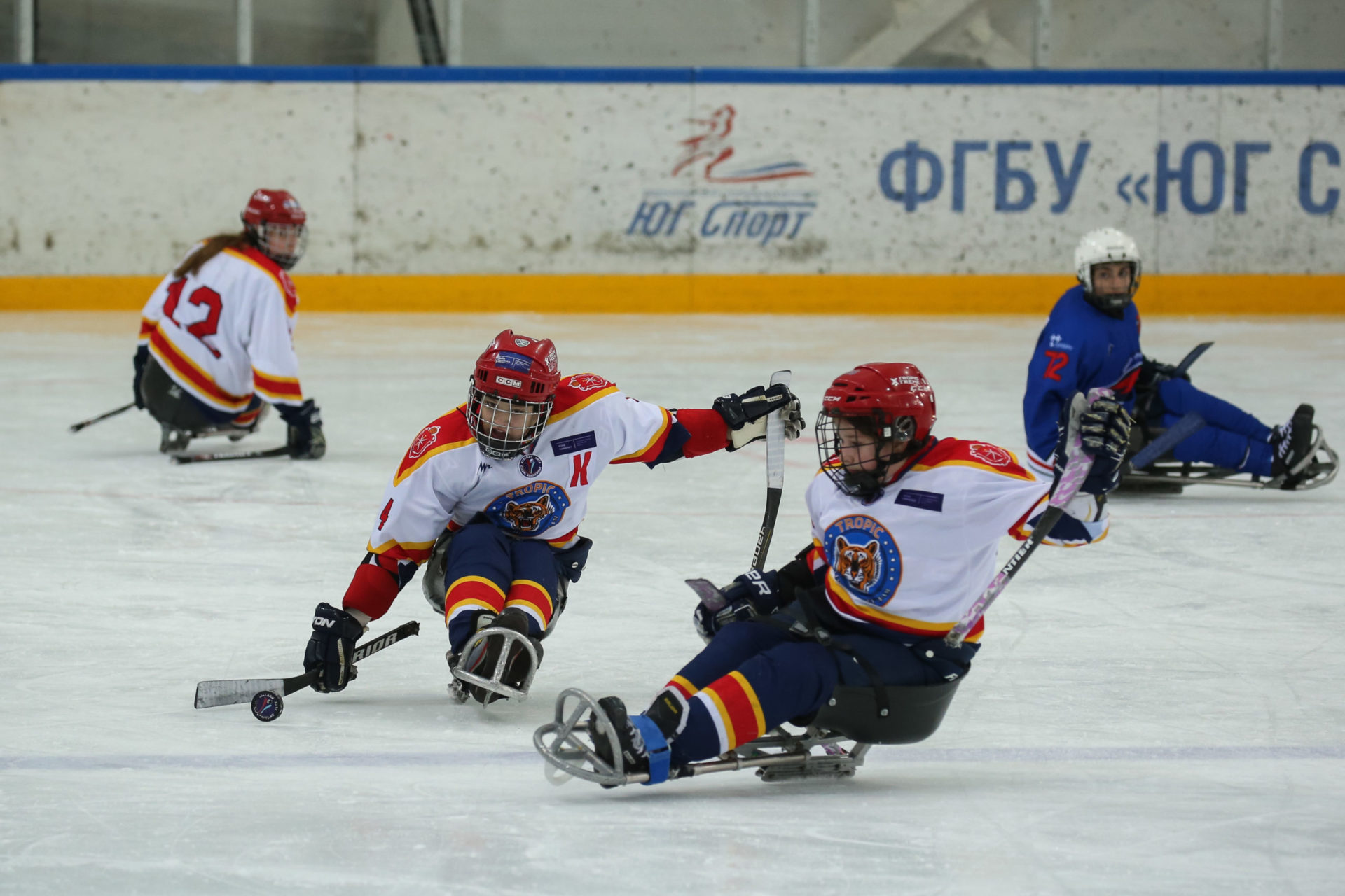 ФОНБЕТ Фестиваль детской следж-хоккейной лиги