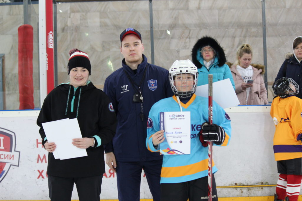 """Hockey Family Camp"" в Карелии"