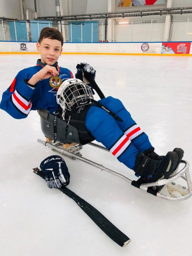 Виктория Вороньжева: «Мы самая настоящая следж-хоккейная семья»