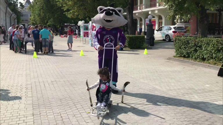 Следж-хоккей на «Галафесте-2018»