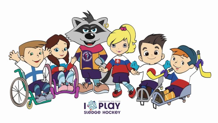 I play sledge hockey 2018