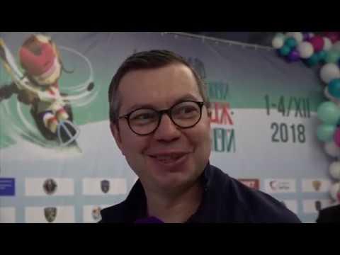 Илья Воробьев прочитал детям книгу «Я играю в следж-хоккей»