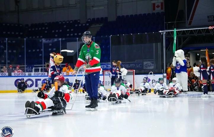 В Нижнем Новгороде завершился турнир по следж-хоккею среди детских команд