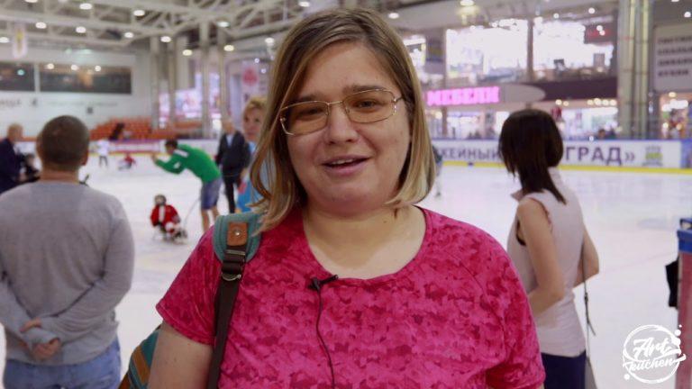 Первый в России мастер-класс по специальному хоккею