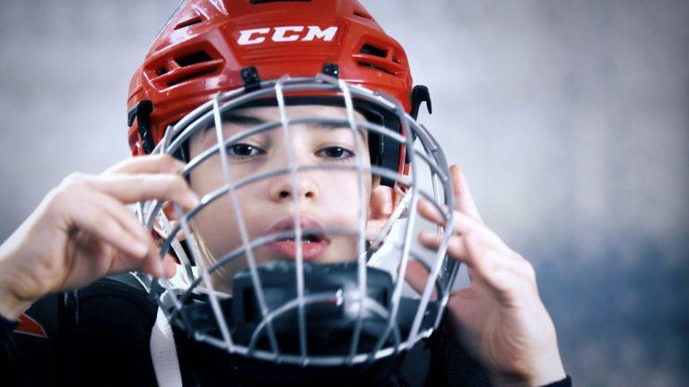 Поддержи юных следж-хоккеистов!