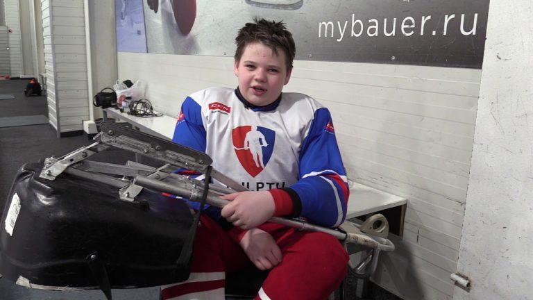 Детский следж хоккей