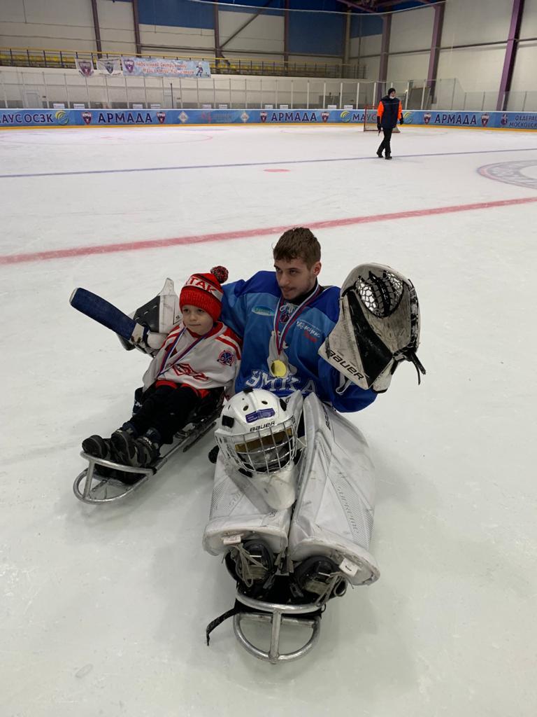 В Одинцово состоялся турнир среди детских следж-команд «Преодоление»