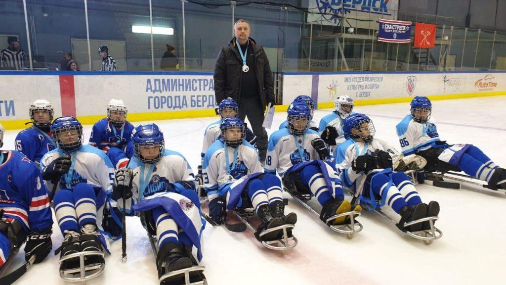 Межрегиональный турнир по следж-хоккею «Шайбу! Шайбу!» завершился в Бердске