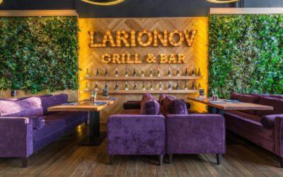 «Добрый хоккей» с Larionov Grill&Bar