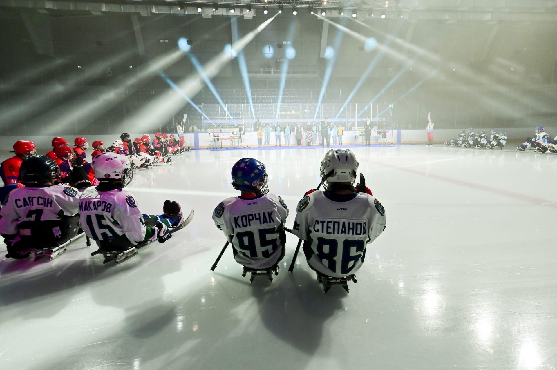 «Енисейский лед» турнир по следж-хоккею г.Красноярск