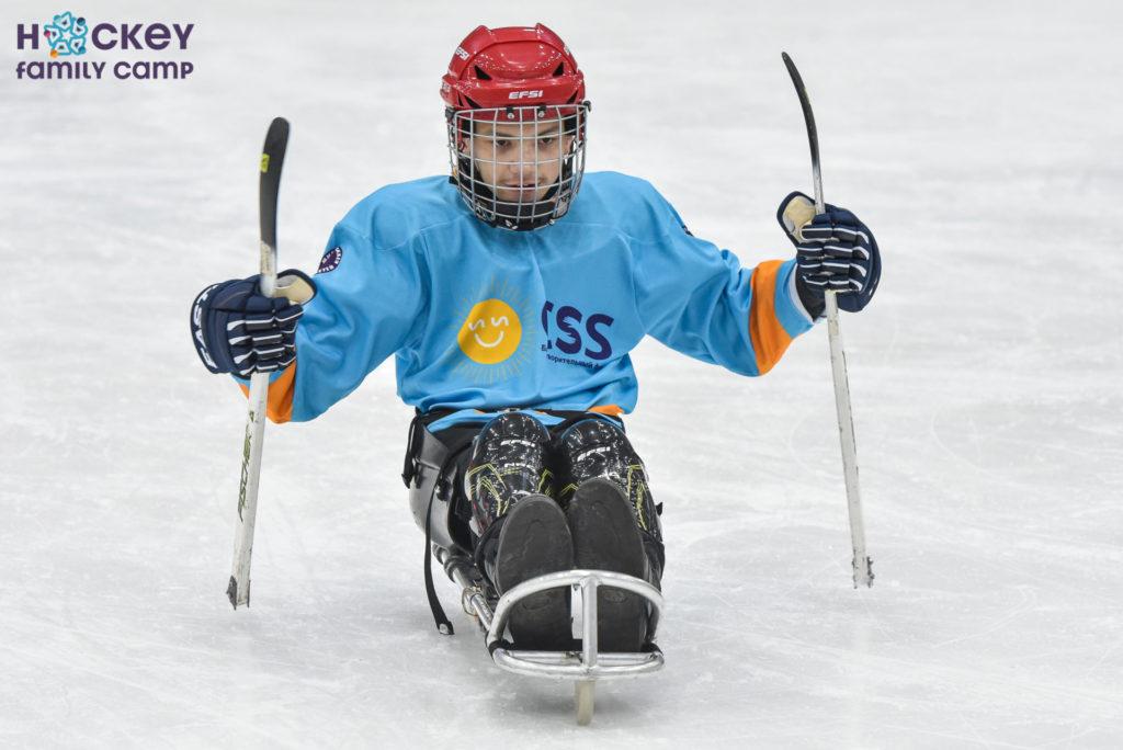 «Мы даже не предполагали, что следж-хоккей даст столько свободы нашим детям»