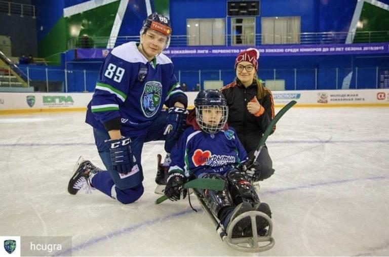 Полина Степанова: «Главная ценность следж-хоккея — команда»