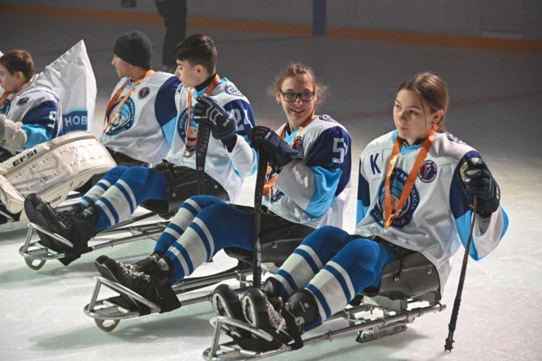 Турнир по следж-хоккею «Енисейский лед» завершился в Красноярске