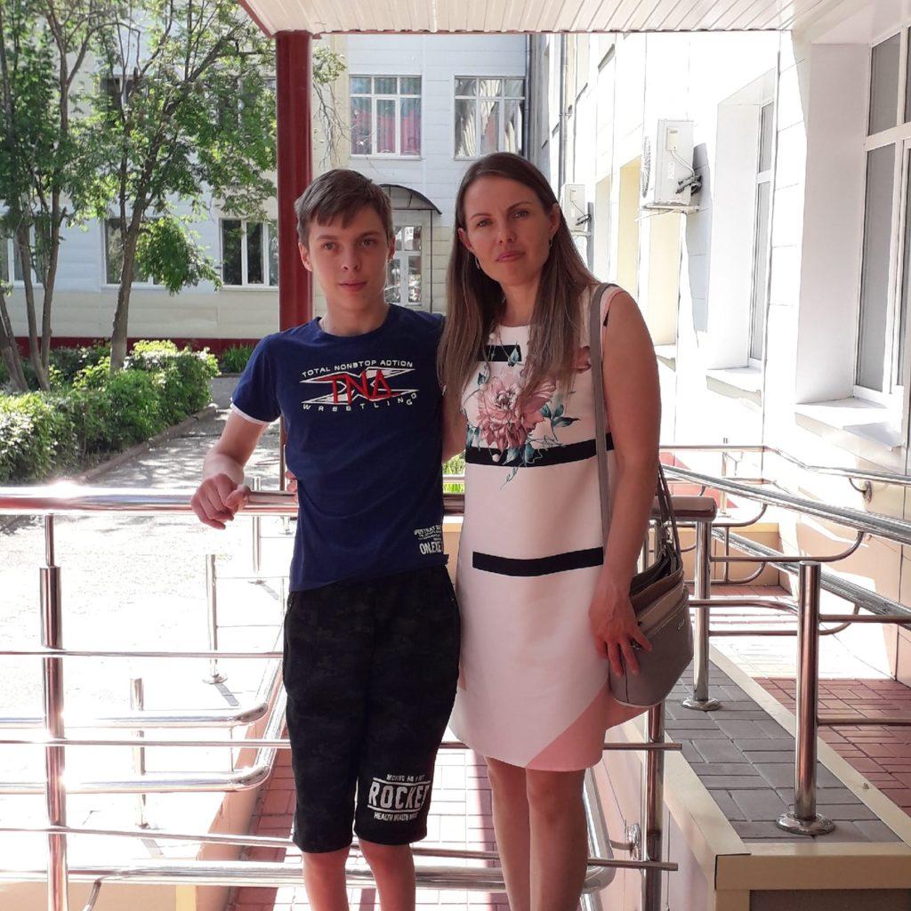 Ирина Зацепина: «Артем хочет стать спортивным журналистом»