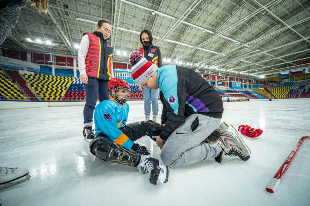 Региональный интенсив Hockey Family Camp в Хабаровске по хоккею для незрячих