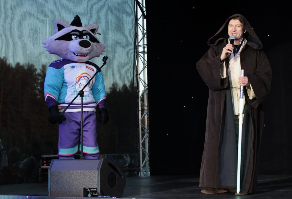 Hockey Family Fest открылся театрализованным представлением
