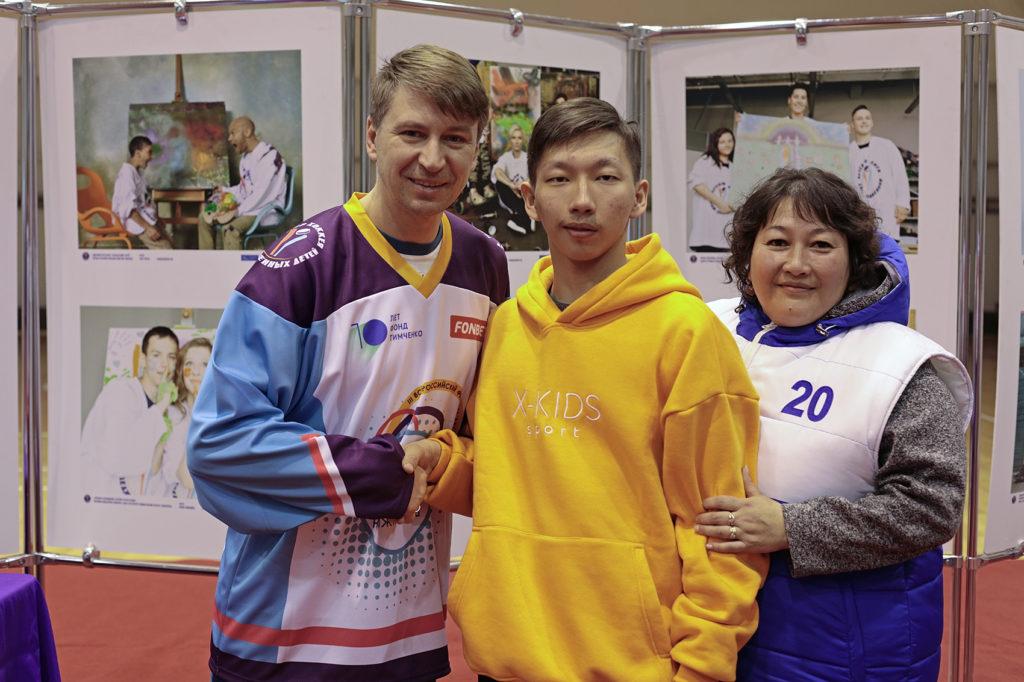 Алексей Ягудин провел зарядку для участников Фестиваля