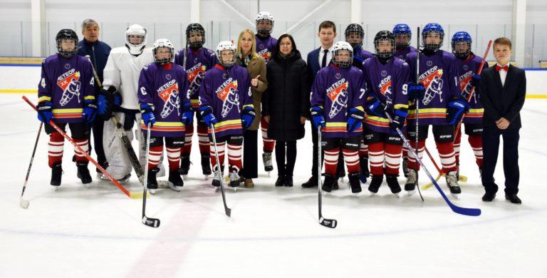 В Чувашии появилась команда по специальному хоккею «Метеор»