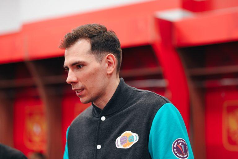 Дмитрий Лисов провел мастер-класс для «Красной молнии»