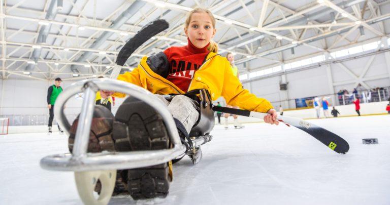 Следж-хоккей будут развивать в Архангельске