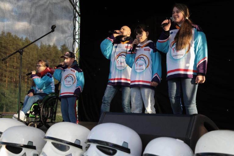 Хоккей в наших венах или как создавался гимн Детской следж-хоккейной лиги
