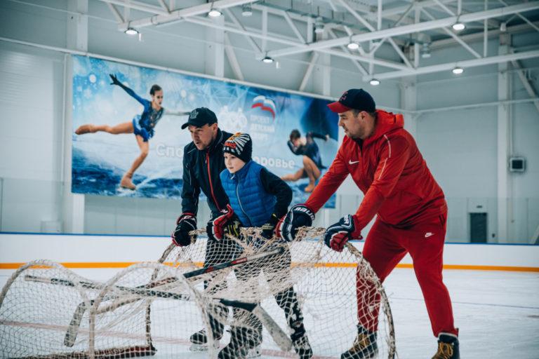 В Ульяновске прошел открытый мастер-класс по хоккею для незрячих