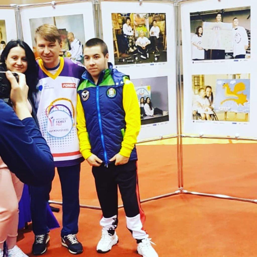 Елена Сибиберт: «Егор хочет стать тренером по следж-хоккею»