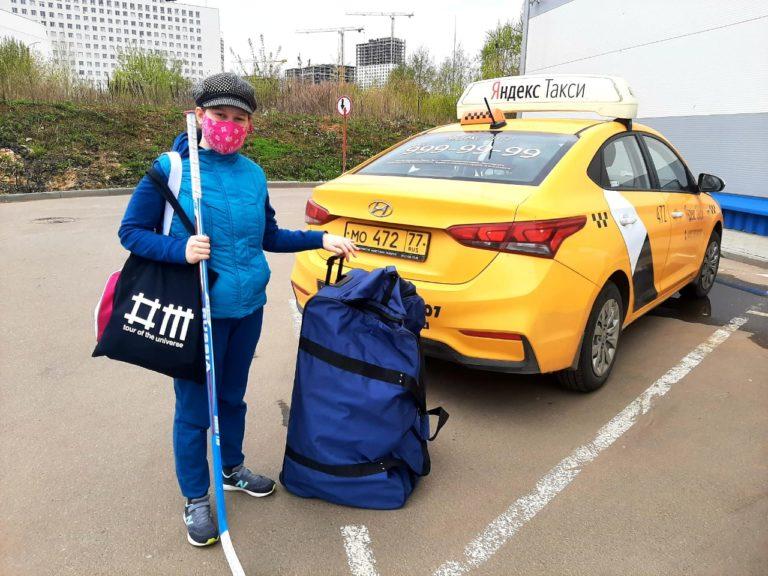 Игроки команд Детской следж-хоккейной лиги на тренировки едут на такси