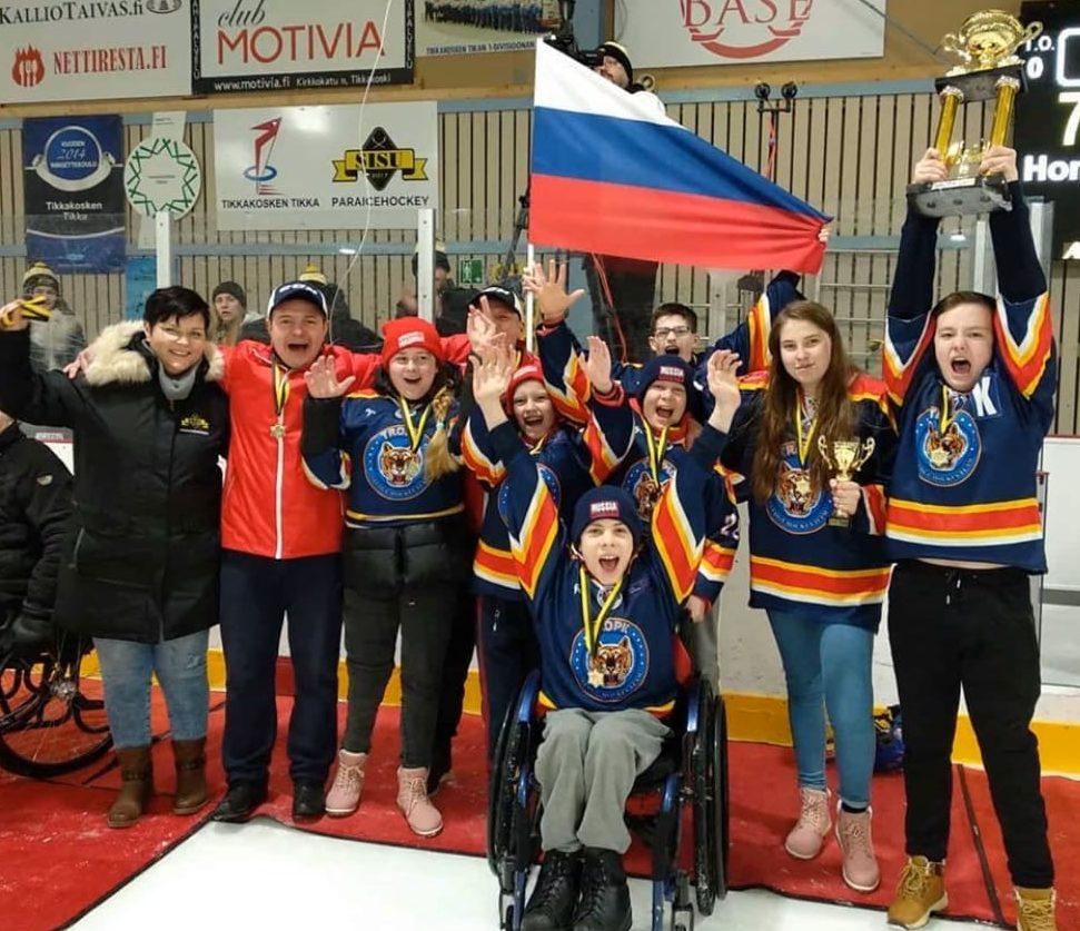 Команда «Тропик» – победители турнира в Финляндии