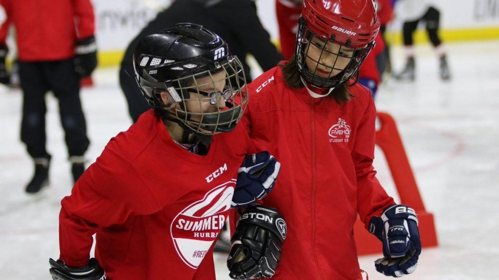 Приглашаем в новую секцию хоккея для незрячих детей и подростков от 7 до 20 лет