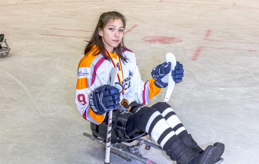 Татьяна Трапезникова: «Благодаря следж-хоккею дочка обрела много друзей»