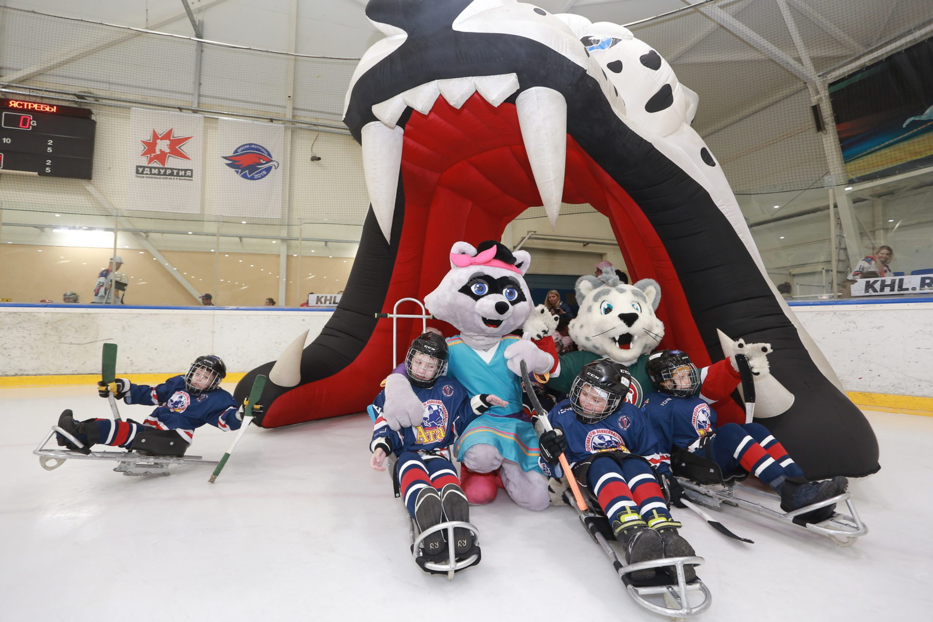 В Казани прошел турнир среди детских следж-хоккейных команд Приволжского федерального округа