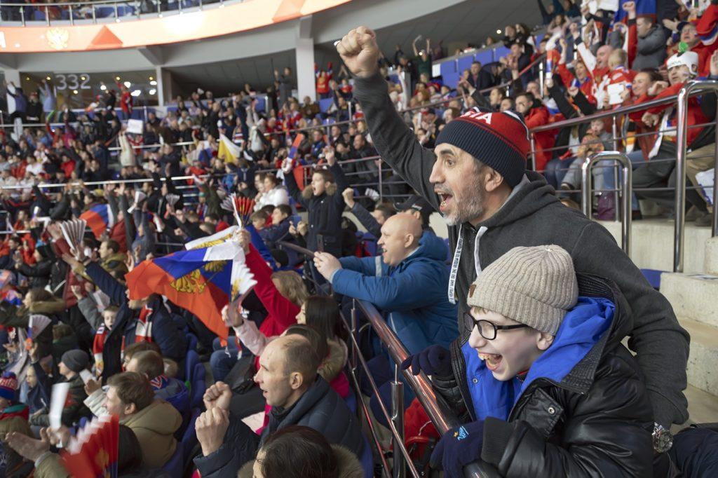 Команды Детской следж-хоккейной лиги приняли участие в Кубке Первого канала