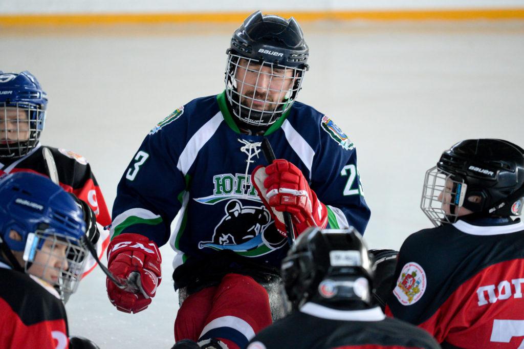 Илья Волков, серебряный призер паралимпийских игр провел мастер-класс команде «Уралец»