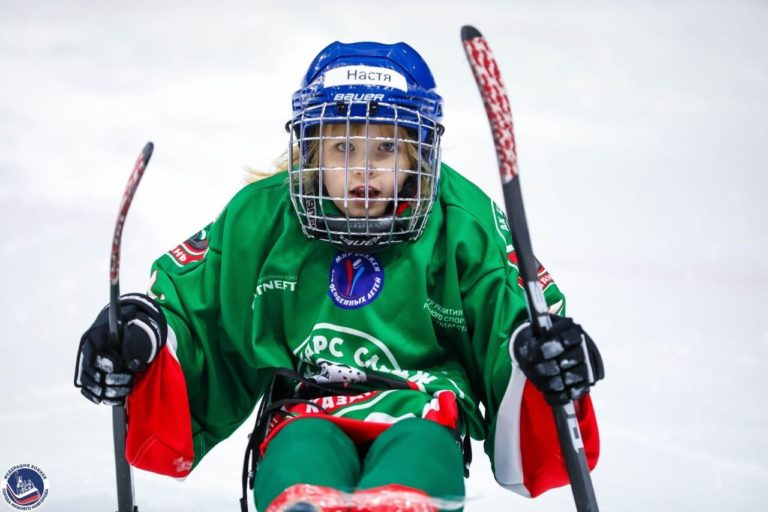 Альмира Шагалина: «Следж-хоккей не просто развлечение, а целая жизнь»