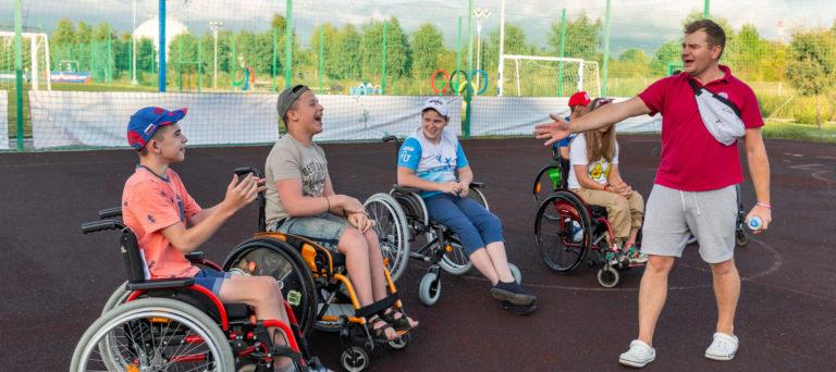 В Сочи стартовал инклюзивный лагерь Hockey Family Camp