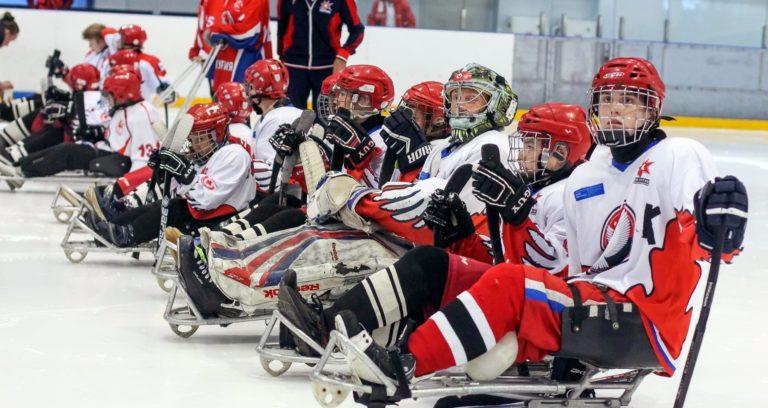 Первый в этом сезоне следж-хоккейный турнир состоялся в Ижевске