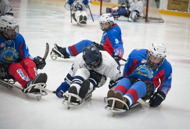 «Вместе весело играть» — следж-хоккейный турнир с таким названием состоялся в г. Кингисепп